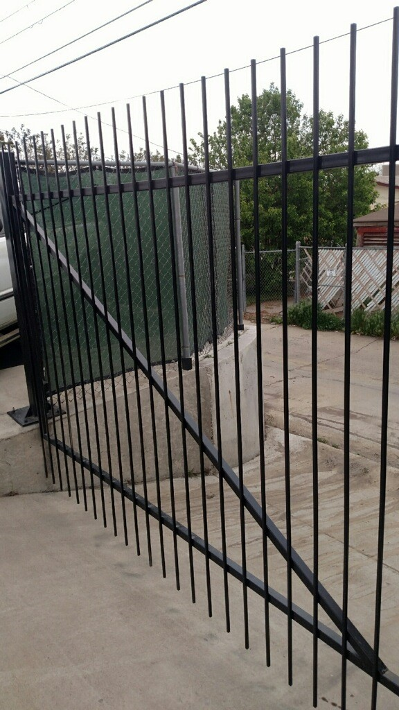 Commercial Decorative Security Gate in Denver, CO