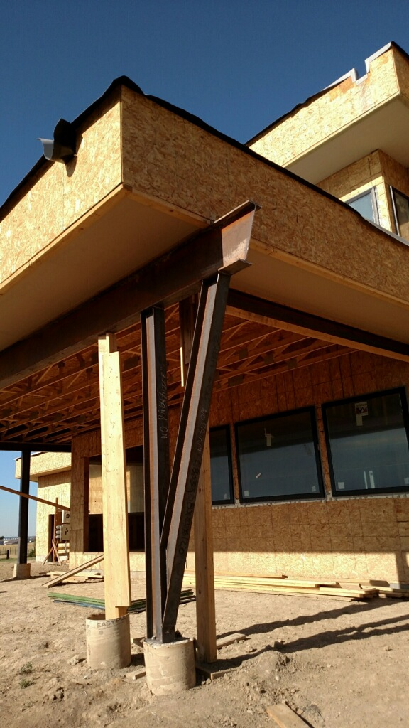 Custom Steel Work on Home in Denver, CO