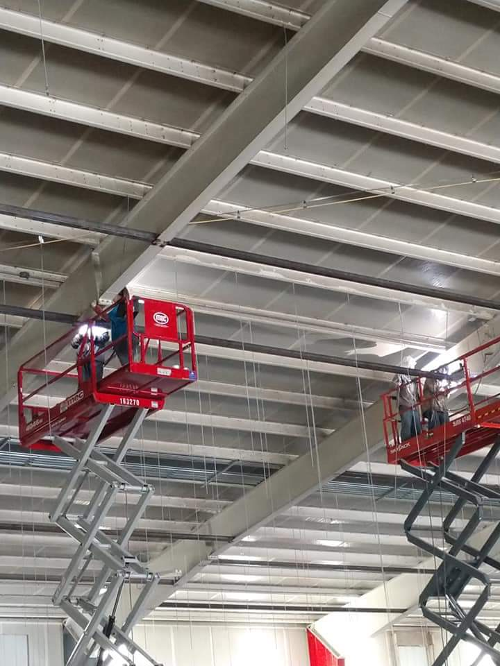 Commercial Welding in a Refrigeration Warehouse in Pueblo, CO